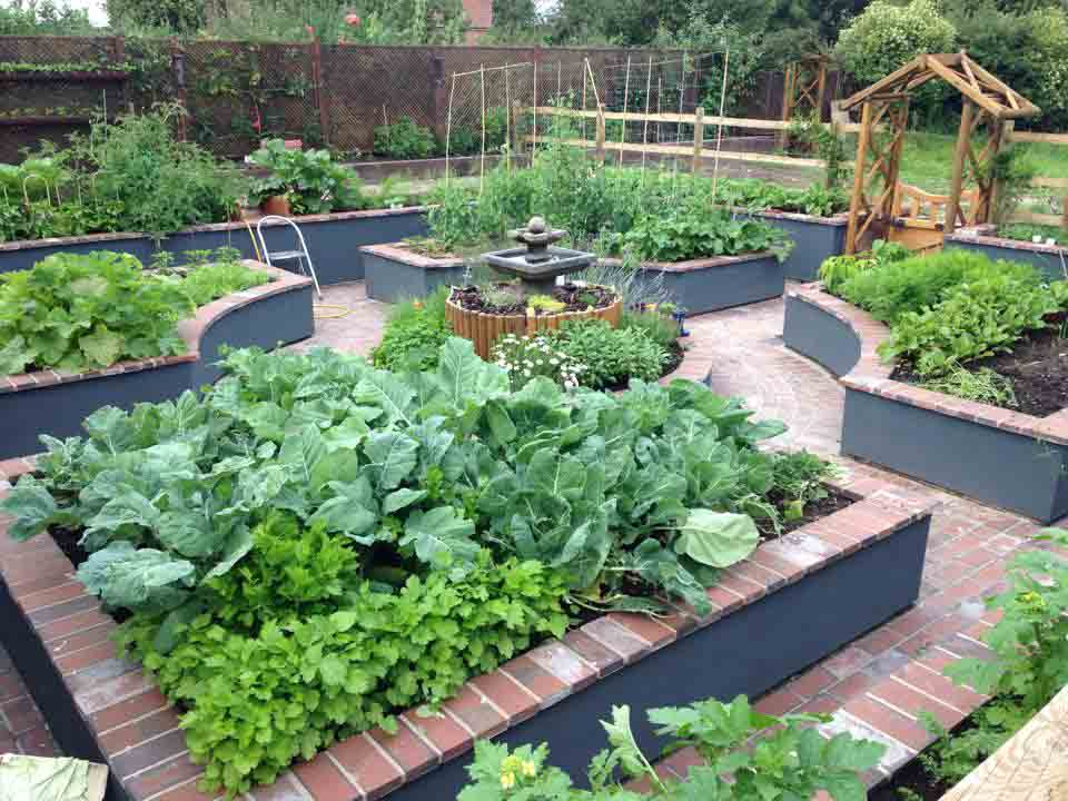 Cheshire Kitchen Garden Edible Garden Wirral Native Landscape Design Ga