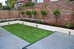 K-rend raised bed with standards